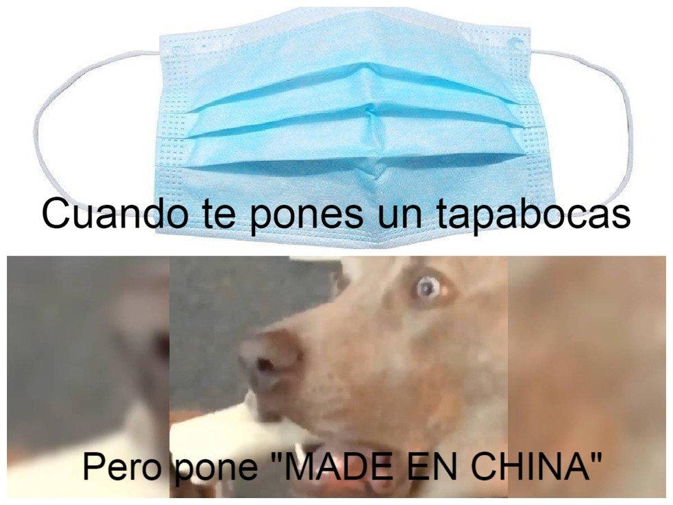 Uno de los tantos memes sobre el coronavirus que contienen mensajes de racismo contra la comunidad china. Imagen: es.memedroid.com