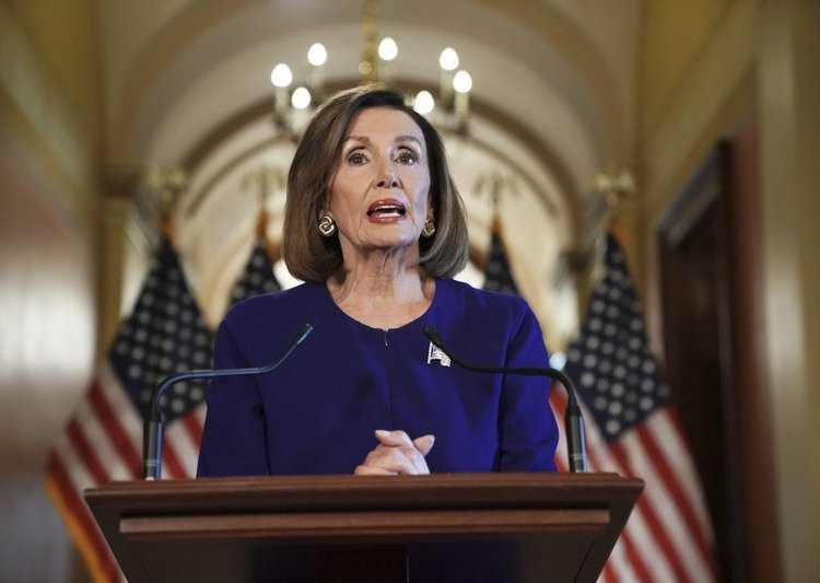 Nancy Pelosi. Foto: AP.