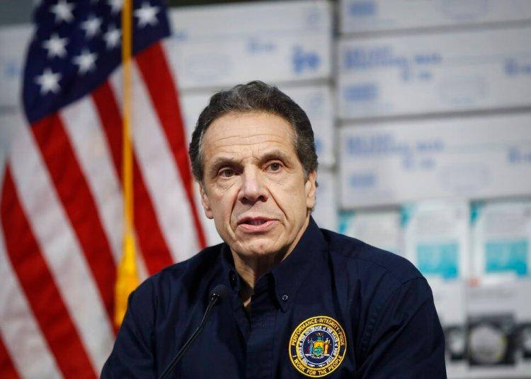 El gobernador de Nueva York, Andrew Cuomo. Foto: John Minchillo/AP.