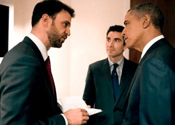 Patrick Hidalgo (izq), fue asesor del expresidente Barack Obama para el acercamiento con Cuba. Foto: washingtonian.com