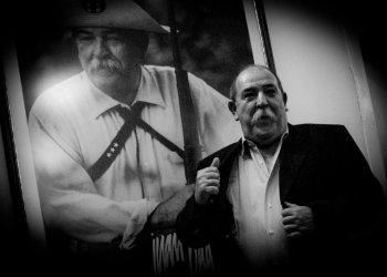 Juan Padrón, en marzo de 2008, el día que le otorgaron el Premio Nacional de Cine. Foto: Kaloian.