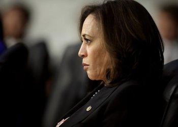 La senadora por California y ex candidata presidencial Kamala Harris. Foto: The Intercept.