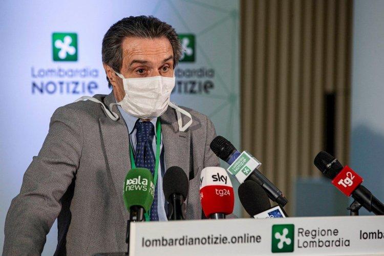 Attilio Fontana, presidente de la región italiana de Lombardía. Foto: EFE.