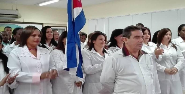 Médicos de Cuba llegan a Italia para apoyar en lucha contra coronavirus