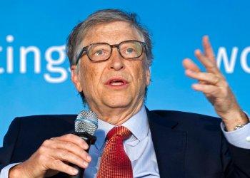 Fotografía de archivo de Bill Gates, durante una conferencia en Washington en 2018. Foto: Jose Luis Magana / AP / Archivo.
