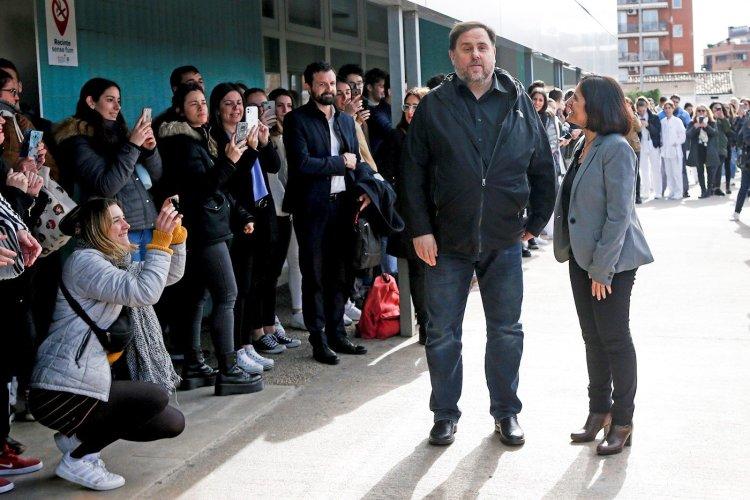Oriol Junqueras. Foto: EFE.