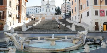 Roma vacía. Foto: latercera.com