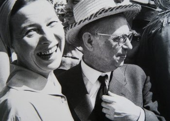 Simone de Beavoir y Jean Paul Sartre.