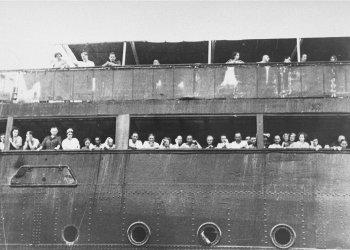 El 2 de junio de 1939, el St. Louis fue obligado a dejar aguas cubanas con 907 pasajeros a bordo. Foto: collections.ushmm.org