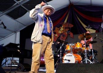 El pianista de jazz Ellis Marsalis, en Nueva Orleáns, 2013.  Foto: AP Photo/Gerald Herbert, File.