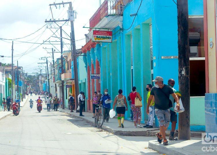La Habana y Matanzas, provincias que reportaban nuevos contagios hasta la medianoche de ayer. Foto: Otmaro Rodríguez