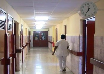 "El Hospital ""Faustino Pérez"" de Matanzas. Foto: TV Yumurí."