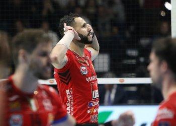 Osmany Juantorena no se moverá de club la venidera temporada tras firmar la renovación con la Lube Civitanova. Foto: Tomada de Lube Volley.