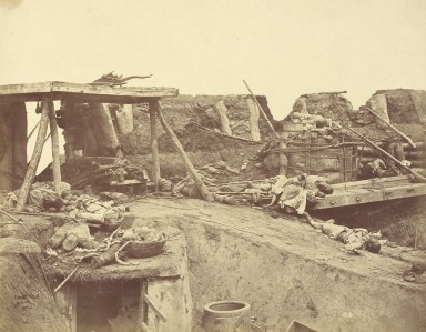 felice-beato-1860-north-forth-english-entrance-photography-of-china