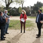 La Alcaldesa de Castilleja anuncia que la Avenida Plácido Fernández Viagas contará con un gran parque canino