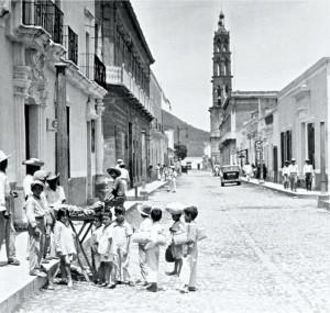 Calle México, Tepic antiguo