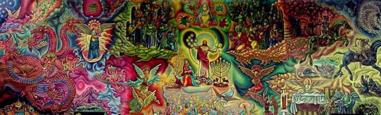 Mural de Juan Lamas en la Iglesia de Santa Teresita