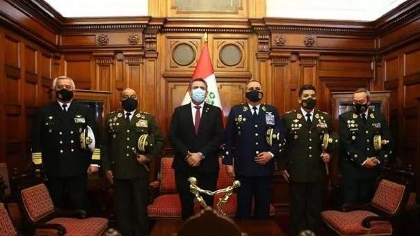 Comandantes de las Fuerzas Armadas