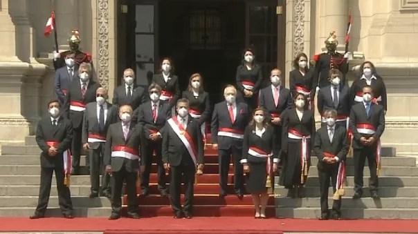 ministros del Gabinete