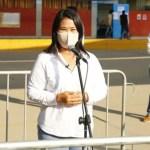 VOTO 2021: Keiko Fujimori espera primeros resultados de la ONPE para pronunciarse