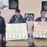 Miembros de mesa de Puno denunciarán a Keiko Fujimori si no se rectifica