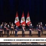 Pedro Castillo, tomó juramento a su primer Gabinete Ministerial