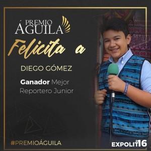 4. Mejor Comunicador Junior Diego Gómez Ciudad de Guatemala, Guatemala
