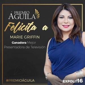 1.Mejor Presentadora de Televisión Marie Griffin – Verdades que cambian vidas Florida – EE.UU