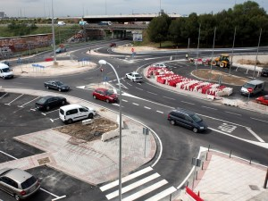 Se abre al tráfico el acceso a la M-506 desde la calle Portugal