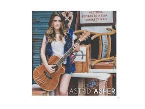 """Astrid Asher presenta su primer trabajo discográfico: """"AA"""""""