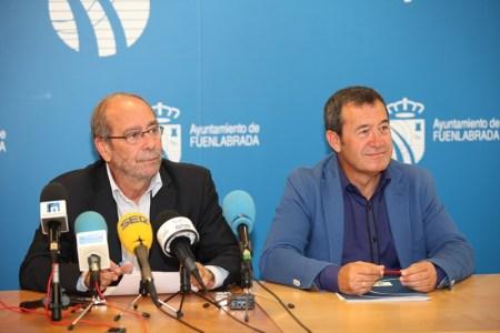 Manuel Robles e Isidoro Ortega