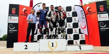 Dos pilotos de Fuenlabrada terminan la temporada como subcampeones
