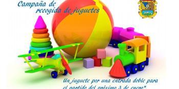 Campaña de recogida de juguetes del CF. Fuenlabrada
