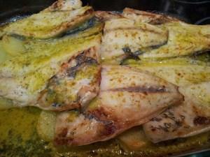 Receta de la semana: Dorada en salsa verde