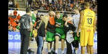 Rolands Smits será baja ante el UCAM Murcia