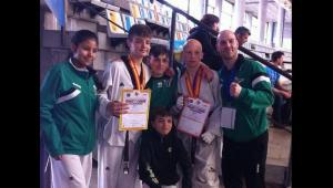 El Club Taekwondo Miraflores se trae dos medallas del Campeonato de España
