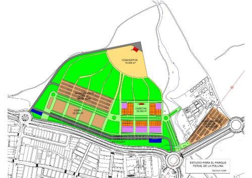 Plano Parque Ferial