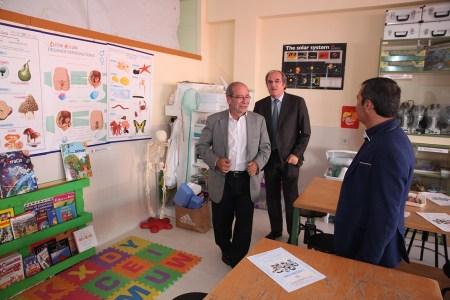 Visita colegio Juan de la Cierva
