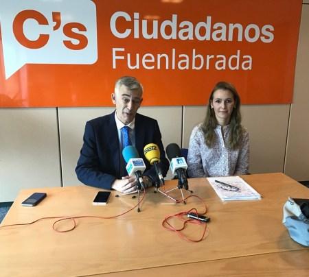 Juan Rubio y Patricia de Frutos