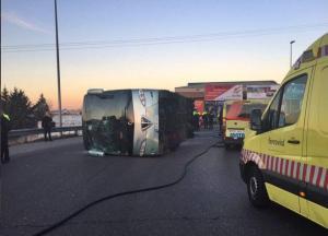 ÚLTIMA HORA: Accidente de un autobús escolar en la M-506