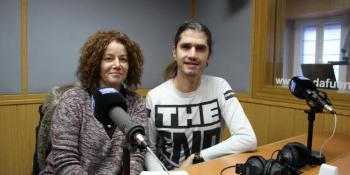 Pepe Herrero y Sandra Rico