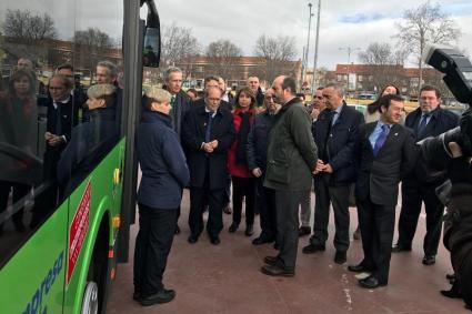 Presentacion nuevo Autobuses