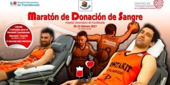 Dona sangre y disfruta del partido del Montakit Fuenlabrada ante Tenerife