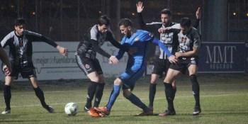Un gol de Abel Molinero da ventaja al C.F. Fuenlabrada para el partido de vuelta