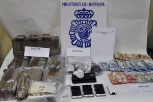 La Policía Nacional de Fuenlabrada detienen a cinco personas por tráfico de drogas