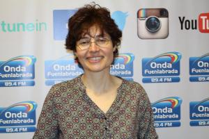 La escritora Mercedes Gutiérrez nos presenta su primer libro, Perro Verde