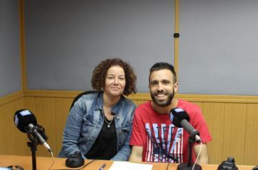 Sandra Rico y Alberto Izquierdo