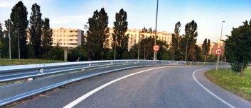 Fuenlabrada solicita un sistema de protección nuevo en las carreteras para motos y bicicletas