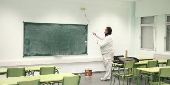 Ayuda de hasta 3.000 euros para pintar los colegios