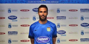 Rubén Sanz es el primer renovado del CF. Fuenlabrada